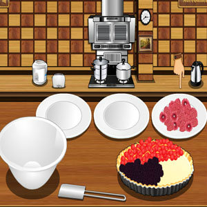 เกมส์ทำเค้ก เกมส์ทำเค้กกรอบหน้าผลไม้
