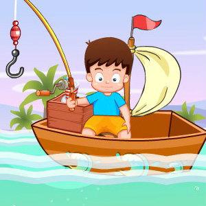 เกมส์ตกปลา เกมส์เด็กน้อยตกปลาวันหยุด