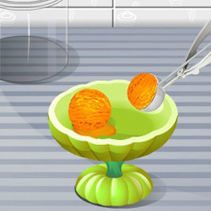 เกมส์ทำเค้ก เกมส์ทำไอศกรีมฟักทอง