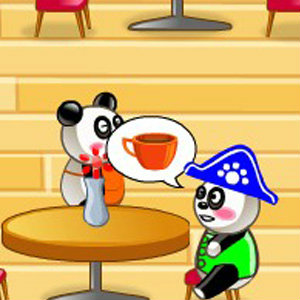 เกมส์เสิร์ฟอาหาร เกมส์ร้านอาหารแพนด้า 2