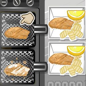 เกมส์ทำอาหาร เกมส์ทำสเต็กปลา