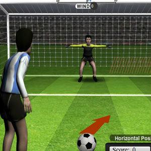 เกมส์กีฬา เกมส์ยิงจุดโทษ 12 Yards Penalty Challenge