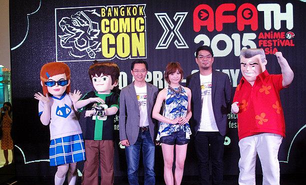 Bangkok Comic Con 2015 จัดยิ่งใหญ่รับปิดเทอม 30 เมษายนนี้