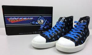 เกมไม่ทำ ทำรองเท้าแทน Rockman Sneakers