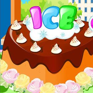 เกมส์ทำเค้ก เกมส์ทำเค็กไอศรีม2