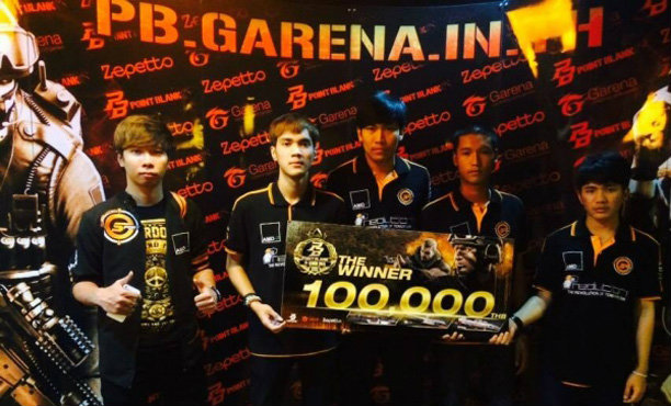 GZ-GAMING คว้าแชมป์ POINT BLANK League 2015 Season 1