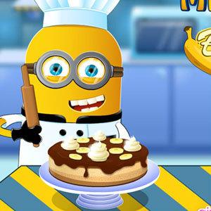 เกมส์ทำเค้ก เกมส์จอมซนทำเค้กกล้วยหอม