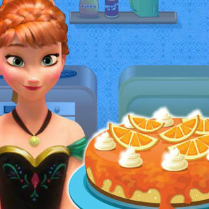 เกมส์ทำเค้ก เกมส์ทำเค้ก Anna Cooking Cheese Cake