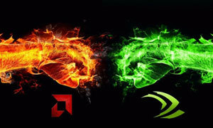 กราฟเทียบศึกการ์ดจอ ส่วนแบ่งการตลาด Nvidia เหนือกว่า AMD