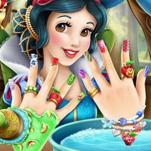 เกมส์ทำเล็บ Snow White Nails