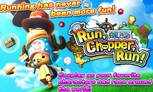One Piece Run Chopper Run! เกมช็อปเปอร์วิ่งเก็บขนม