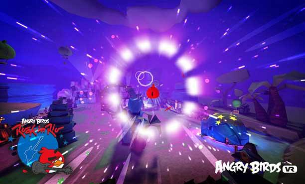 Angry Birds: Rock in Rio เมื่อนกโกรธเข้าไปโลดแล่นในโลก VR