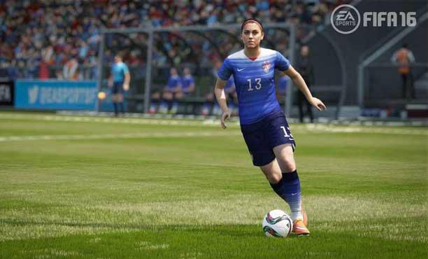 FIFA16 เปิดตัวเป็นทางการ มาพร้อมทีมฟุตบอลหญิงเป็นภาคแรก
