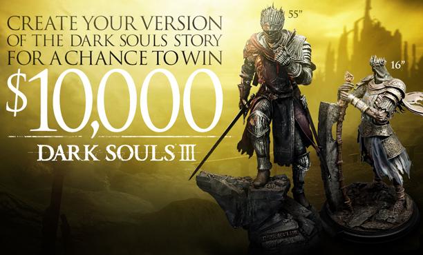 แฟนพันธุ์แท้ว่าไง!? Namco จัดแข่งเล่าเรื่อง Dark Soul ชิงเงินรางวัล $10,000