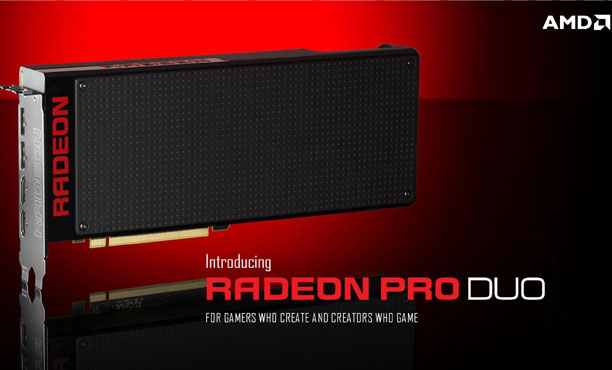AMD เปิดตัว Radeon Pro Duo การ์ดจอสุดแรงและสุดแพงที่สุดในโลก