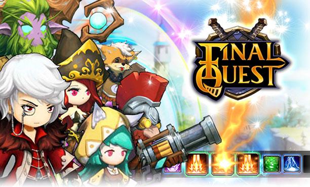 Final Quest  'ดัชนีทะลวงสวรรค์' เกมบนมือถือพาเพลินเหินสู่สวรรค์ด้วยนิ้ว