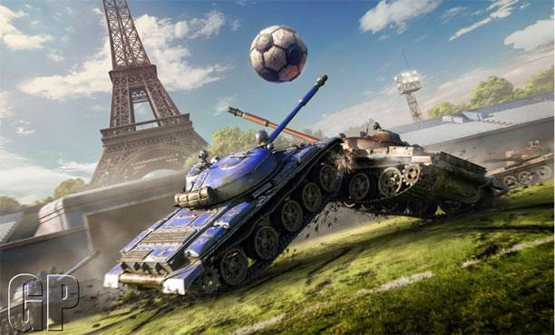 รถถังก็เตะบอลได้ World of Tanks จัดทีมเตะบอล 10 มิถุนายนนี้