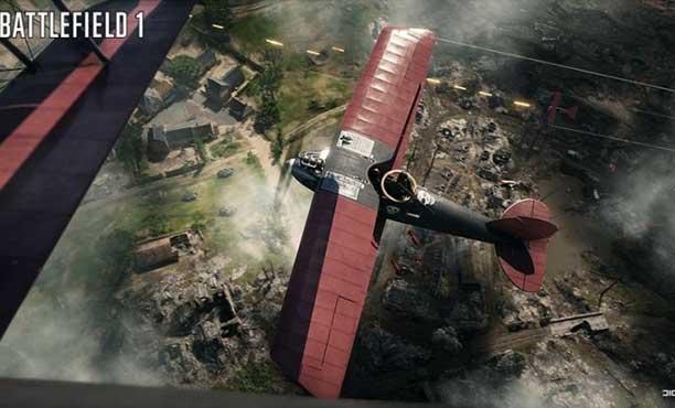 ตัวอย่างใหม่จาก Battlefield 1 โชว์ยานพาหนะบนสนามรบ