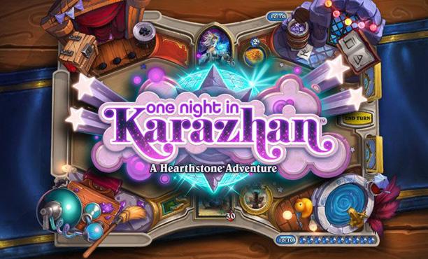 Hearthstone อัพเดทการผจญภัยใหม่ One night in Karazhan!