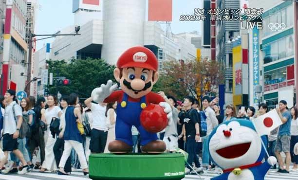 มาริโอและผองเพื่อน เป็นตัวแทนคนญี่ปุ่นในการแข่งขัน โอลิมปิก 2020