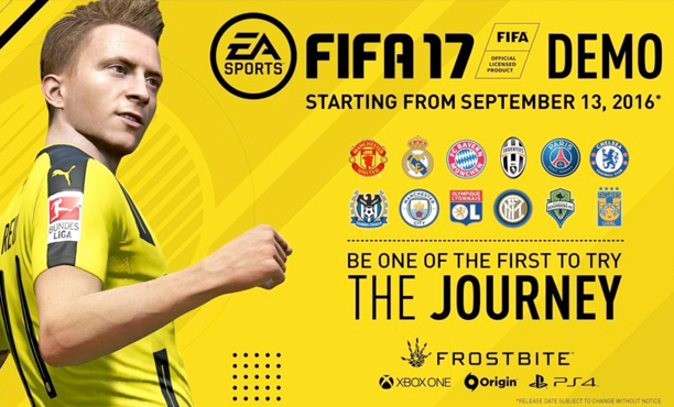 FIFA 17 Demo โหลดได้แล้ว ทั้งใน PC, PS4 และ Xbox one