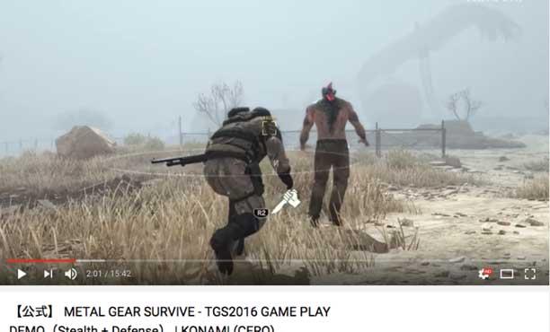 Metal Gear Survive โดนแห่ Dislike อย่างอบอุ่น
