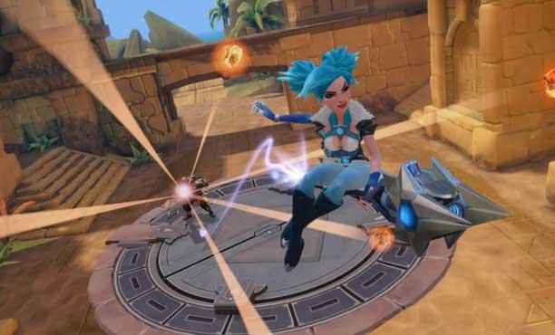Paladins เกมยิง Team-Base จะมีให้เล่นในเครื่อง PS4 และ Xbox one ด้วย