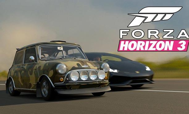 ไม่ต้องกราบรถ! โหลดเล่นฟรี! เดโมเกม Forza Horizon 3