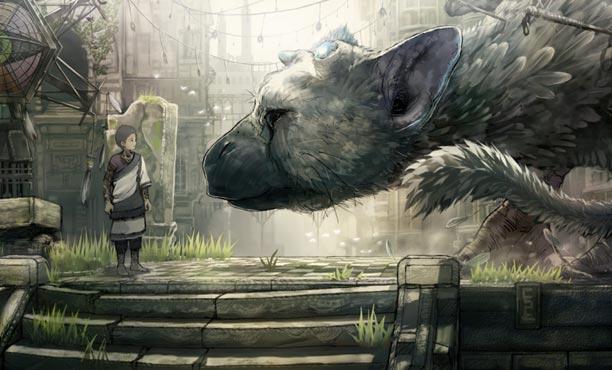 ภาพและคลิปเพิ่มเติมจากเกม The Last Guardian