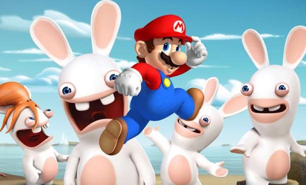 ลือ! Ubisoft กำลังพัฒนาเกม Rabbids บุกอาณาจักรเห็ดของ Mario