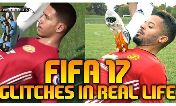 สุดฮา! คลิปล้อเลียนบั๊กของเกม FIFA 17 ด้วยคนจริง