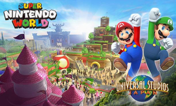 Super Nintendo World เผยโฉมสวนสนุกจากนินเทนโด