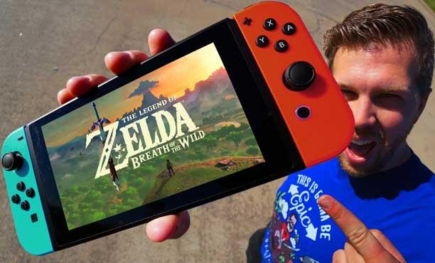 ทดสอบความทน! Nintendo Switch หากทำหล่นลงพื้น