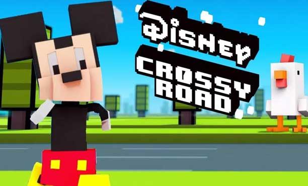 เกมเพลย์ Disney Crossy Road ข้ามถนนเฮฮา สไตล์เรโทร