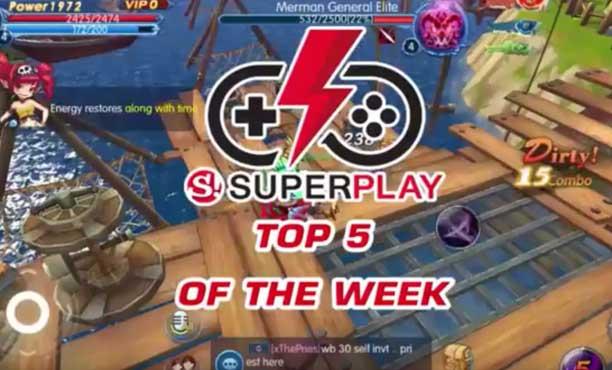 Top 5 เกมมือถือน่าเล่นประจำสัปดาห์