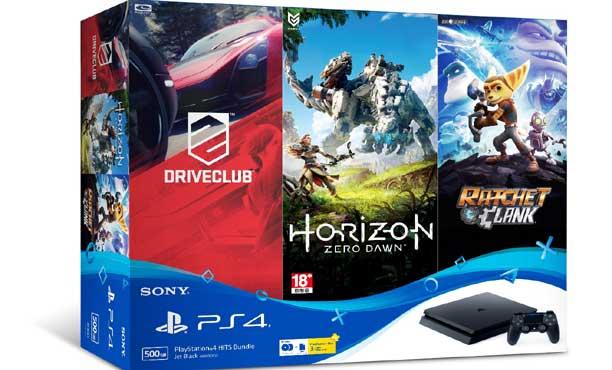 PlayStation4 HITS Bundle แพคสุดคุ้มพร้อม 3 เกมดัง