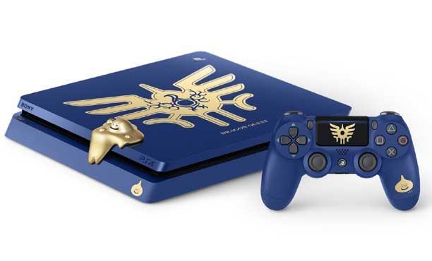 เครื่องรุ่นพิเศษ PS4 และ 2DS จากเกม Dragon Quest XI สวยๆ