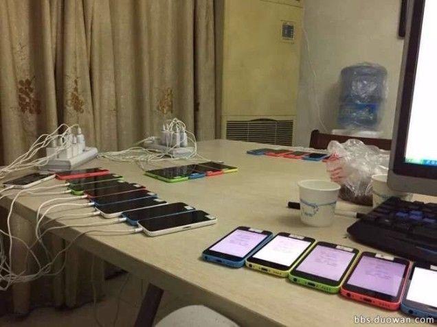 แอบดูโรงงานปั๊มอันดับ Rank ใน App Store ของพี่จีน