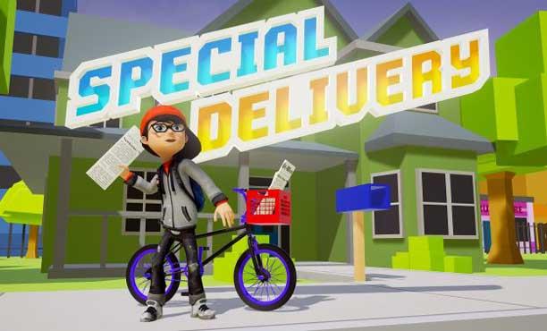 ดักแก่! Special Delivery เกมส่งหนังสือพิมพ์ มีให้เล่นใน PSVR ด้วย