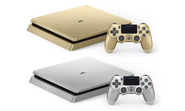 หรูหราแต่ราคาเดิม! PS4 Slim สีทองและสีเงิน