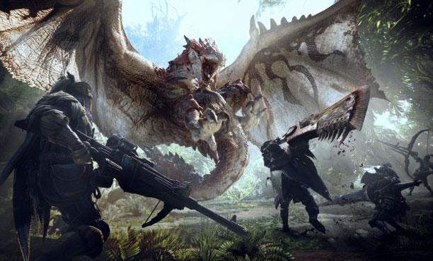 Monster Hunter World ปล่อยตัวอย่างเกมเพลย์จัดเต็มฉาก Ancient Forest