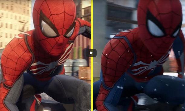 โม้อีกเกม? จับผิดกราฟิก Spider-Man ของ PS4 ห่วยลงกว่าตอนเปิดตัว