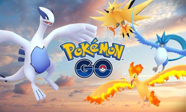 Pokemon Go เริ่มปล่อยโปเกมอนในตำนาน เริ่มจาก Lugia