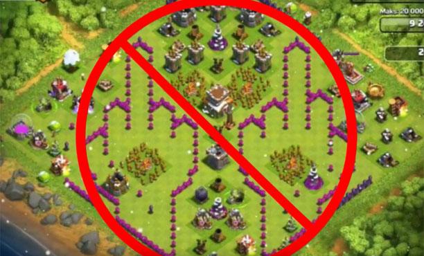 (18+) 12 แบบบ้าน Clash of Clans ต้องห้าม! อาจโดนแบน