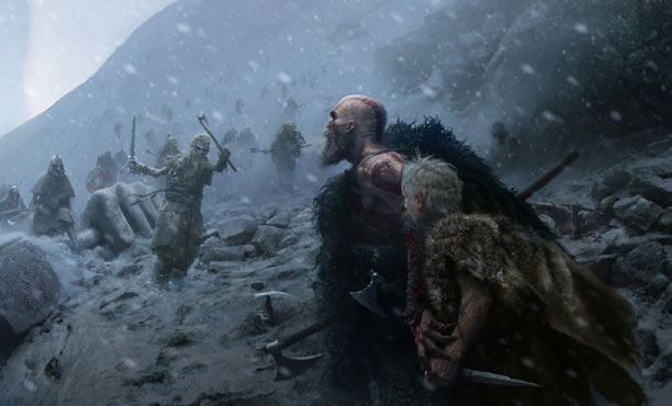 รวมภาพ Concept Artwork จากเกมส์ God of Wars