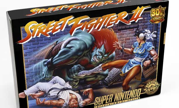 ฉลอง 30 ปี Street Fighter ทำตลับภาคสองของเครื่อง SNES มาขายอีกครั้ง