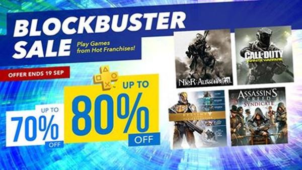 ด่วน Sony ลดราคาเกมสูงสุด 80 ที่ขนมาทั้ง NieR  Call of Duty Assassins Creed