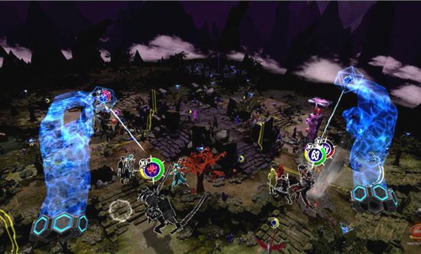 Dark Eclipse เกม MOBA เสมือนจริงแบบ VR เล่นเป็นเทพควบคุมฮีโร่