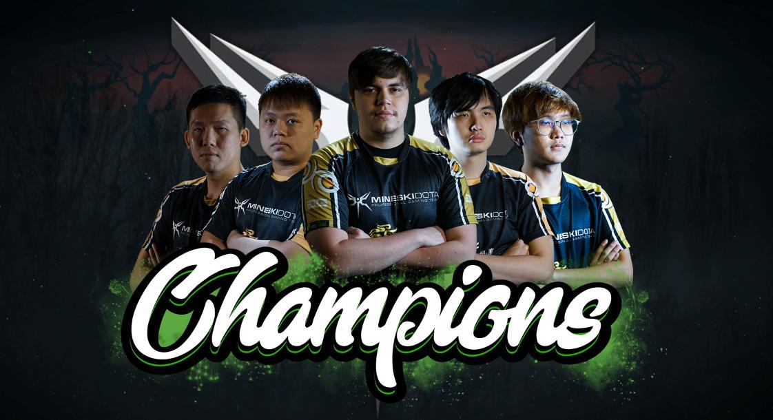 ครั้งแรกในรอบ 4 ปีที่คนไทยในทีมต่างแดนคว้าแชมป์ DOTA2 minor ระดับโลก