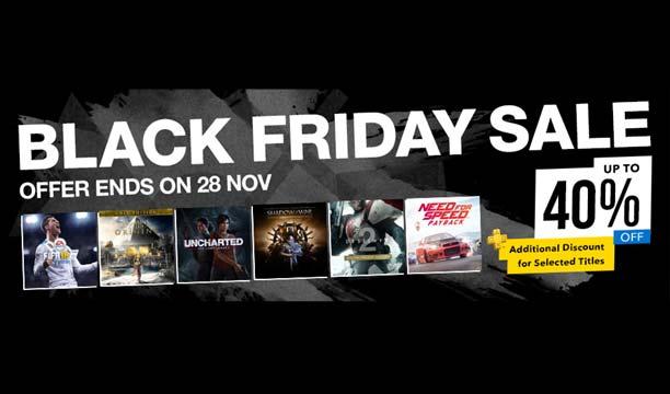 PlayStation Store ลดแหลก! Black Friday สูงสุด 40%